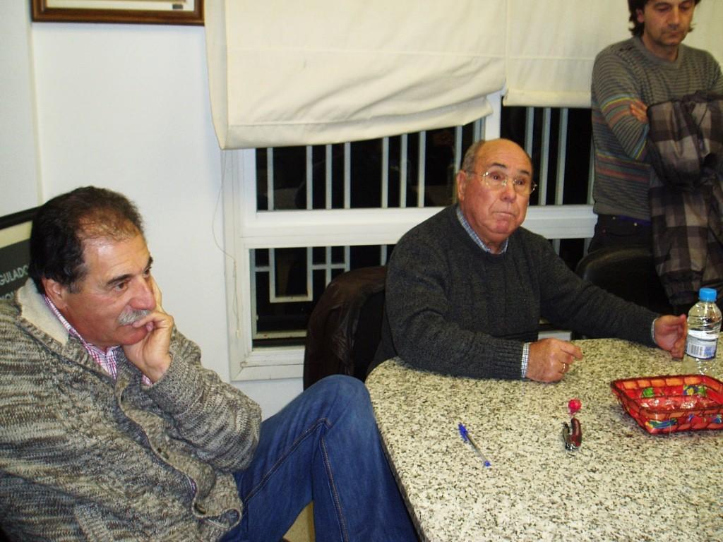 Domingo Fidalgo y Manuel Fernández