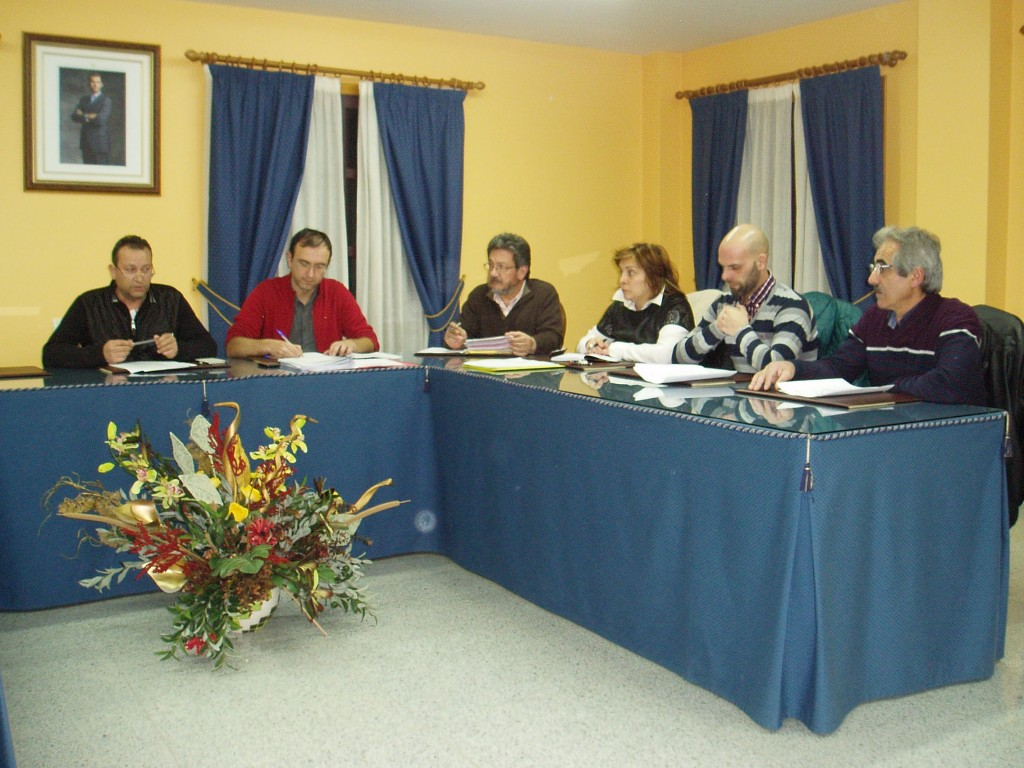 El alcalde y los concejales del grupo de gobierno de Vilamartín