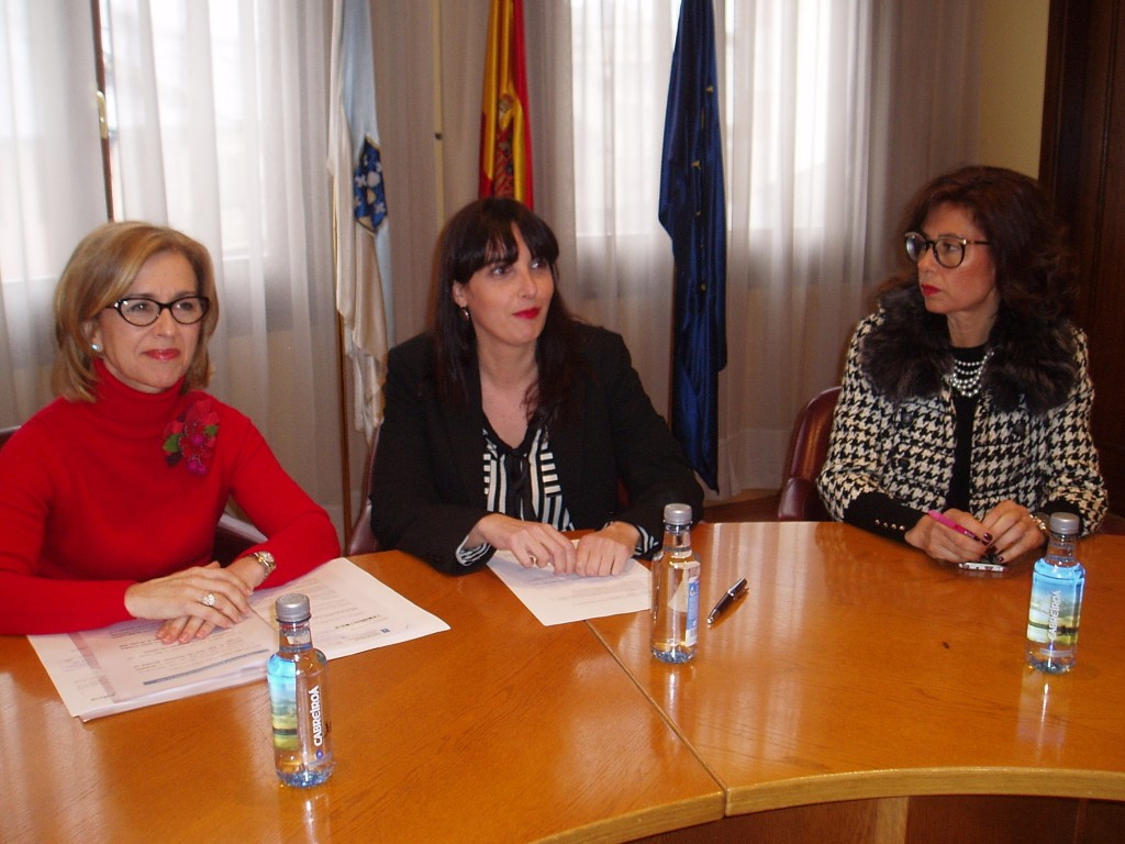 Encarnación Rivas, María Albert y Marisol Díaz