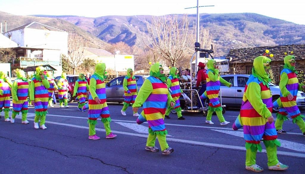 Entroido y desfile en A Rúa en 2015