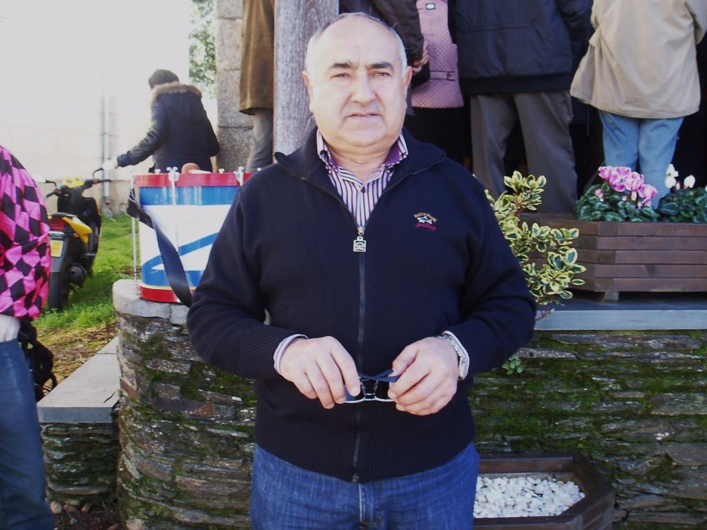 Evaristo Rodríguez González, secretario de la Asociación de Vecinos de Vilela