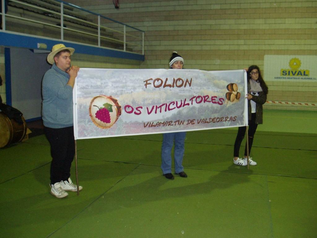 Folión os Viticultores en su puesta de largo en Vilamartín