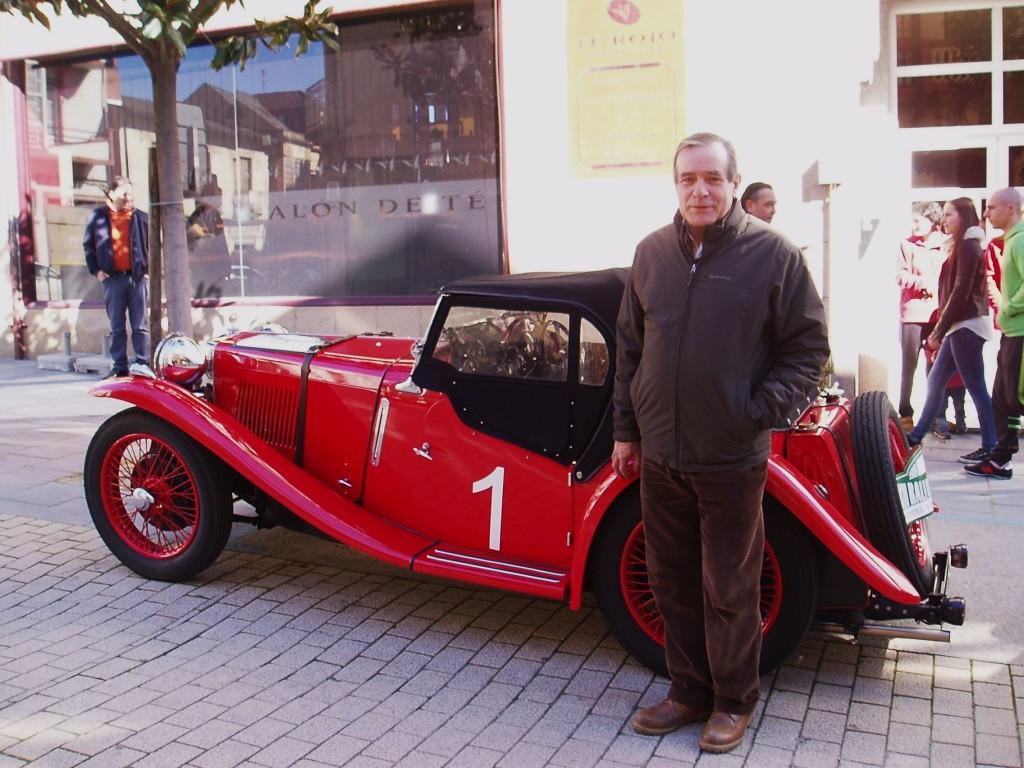 José Rodríguez, del Club Rali de Invierno