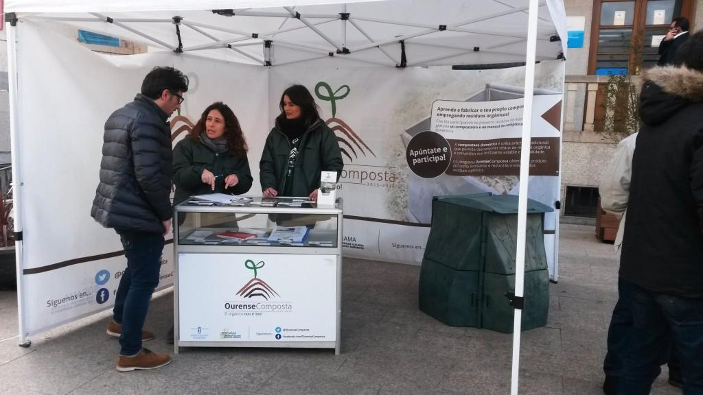 La carpa de Ourense Composta en A Rúa