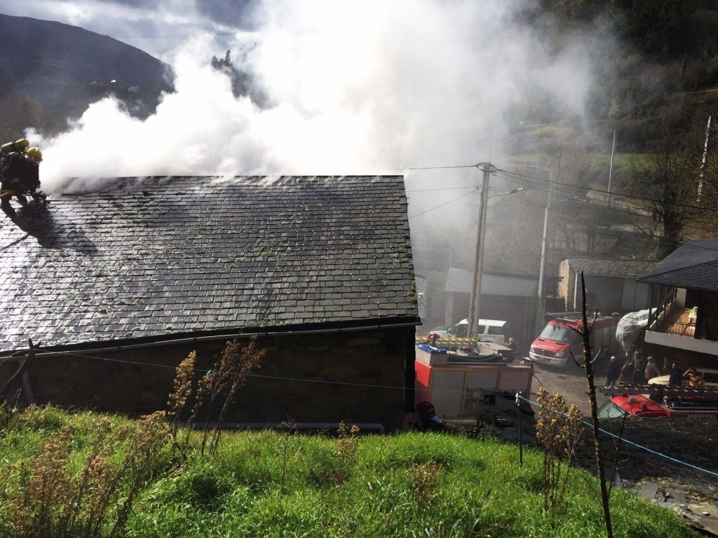 La casa incendiada