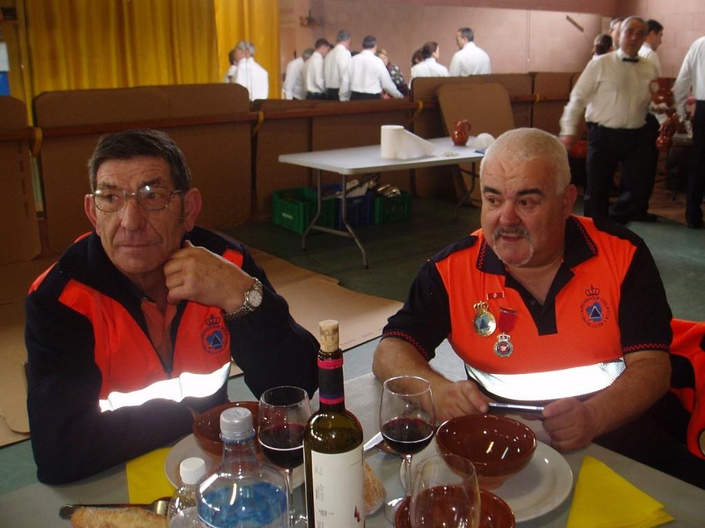 MIembros de Protección Civil