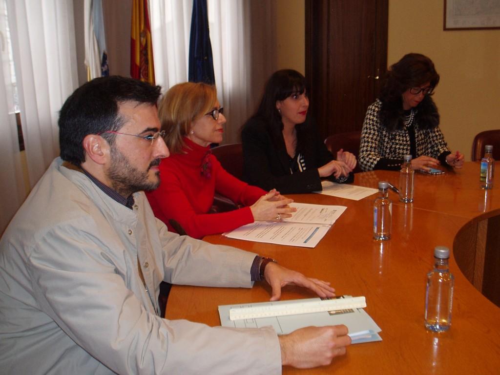 Mario Iglesias, Rivas, Albert y Marisol Díaz