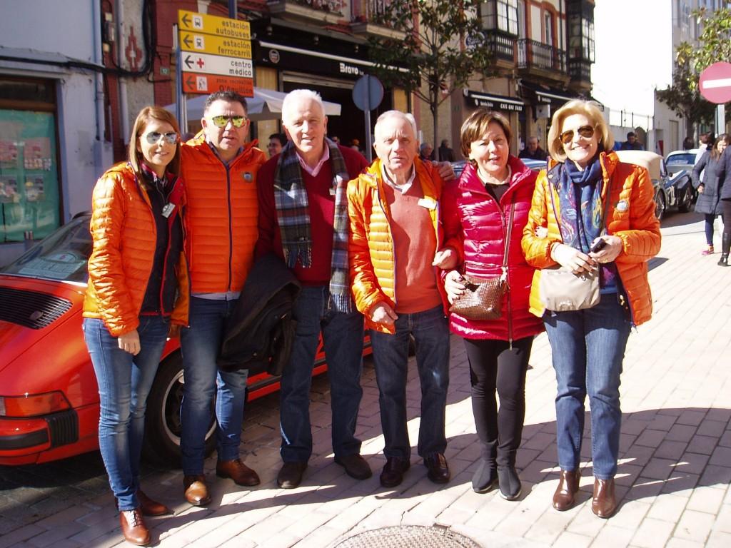 Participantes de Ourense y Asturias