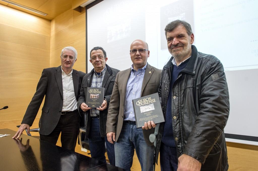 Presentación do libro O Ouro de Ourense