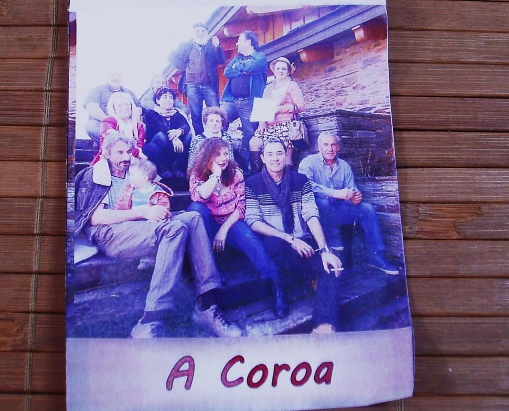 Programa de mano del Encontro de Poetas de A Rúa