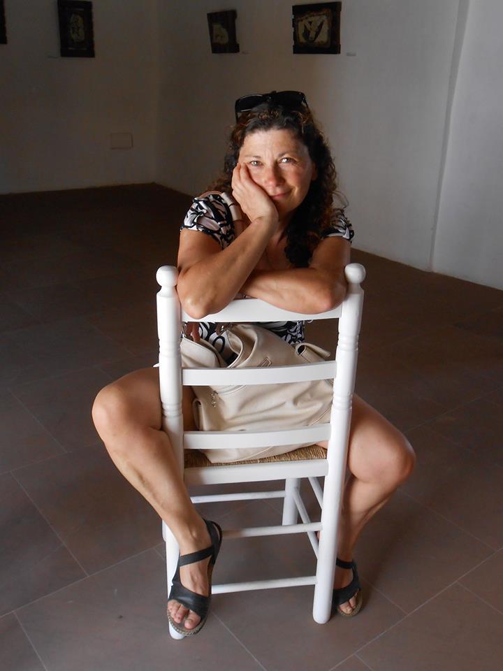 Rosa García Machado, escritora de A Rúa