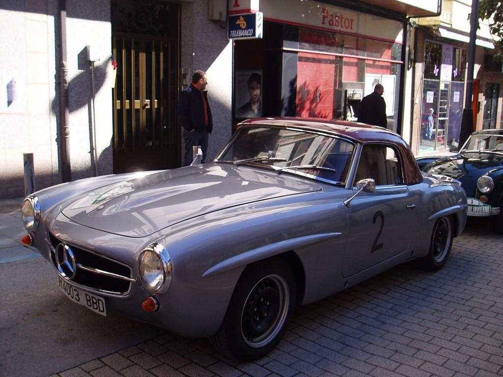 Un Mercedes de 1955