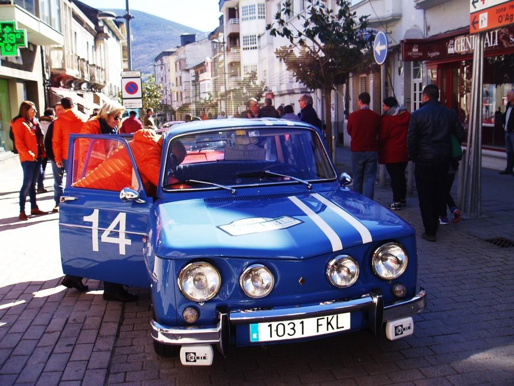 Un coche muy de los 60