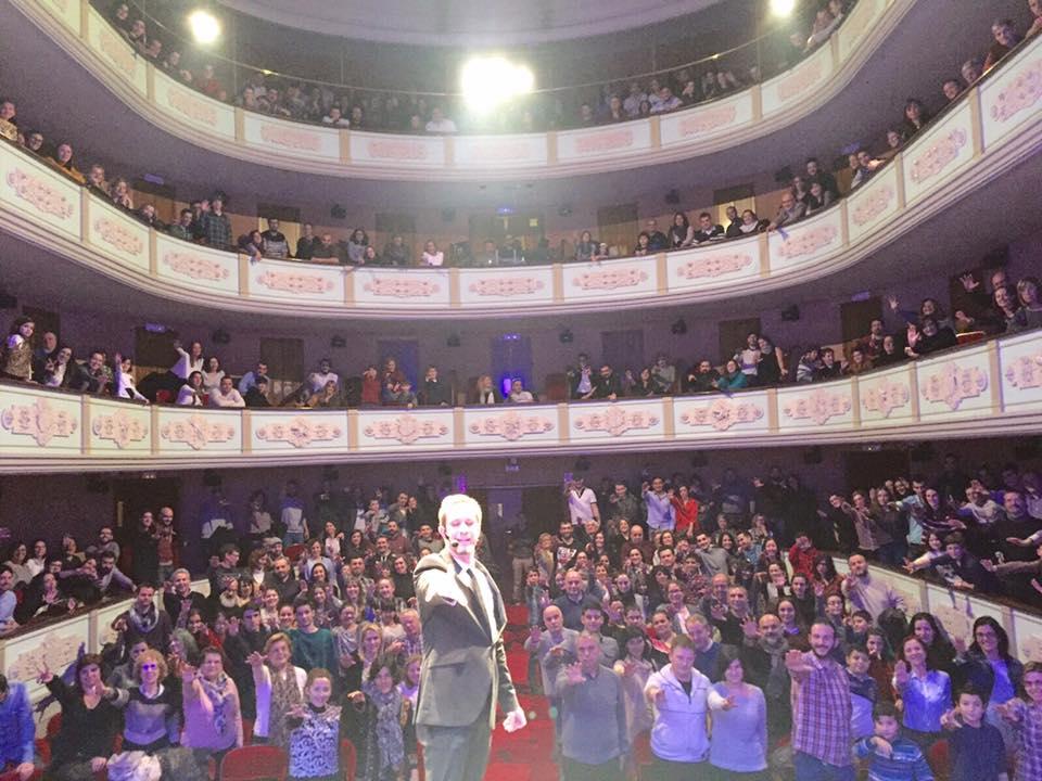 Toni Brght agotó las entradas recientemente en el Teatro Municipal de Ourense