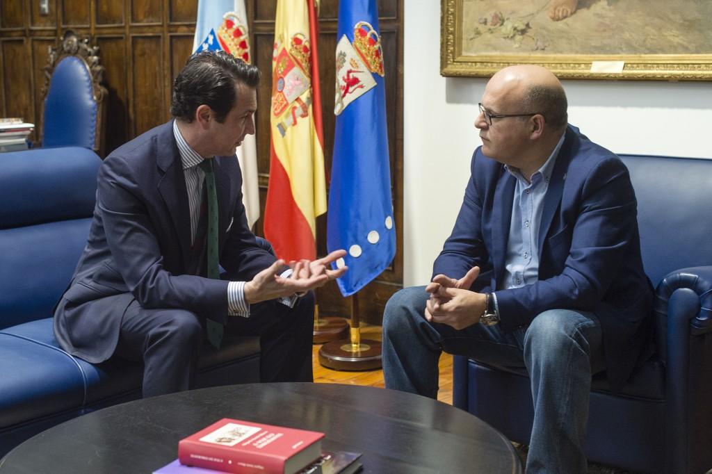 Antonio López de Ávila e Manuel Baltar