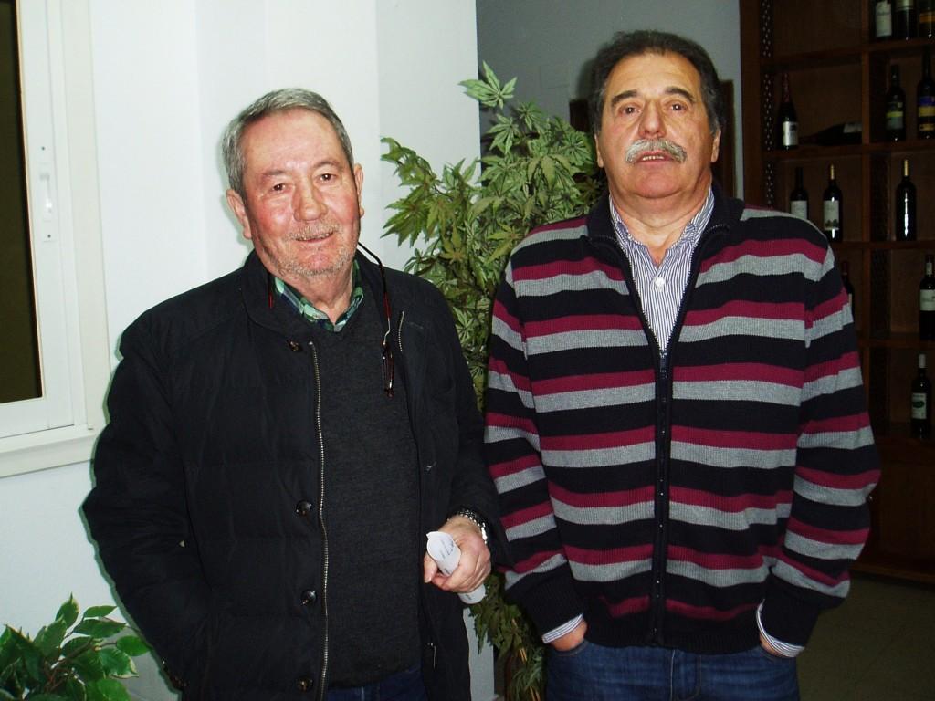 Carlos Aristegui Diéguez (a la izquierda) se estrenó como vocal en representación de la Cooperativa de A Rúa