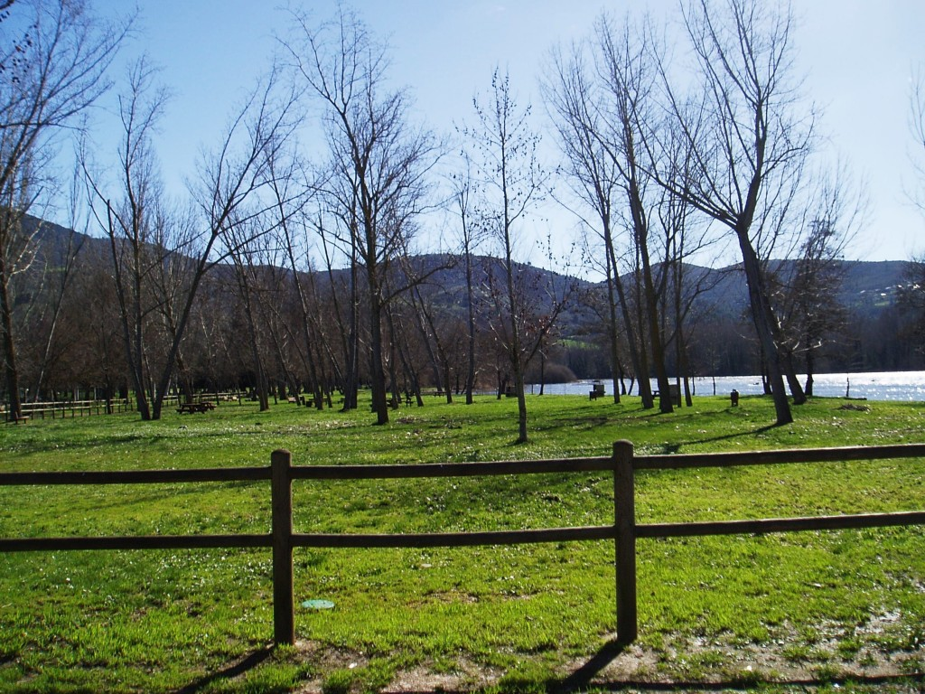 Chopera de O Aguillón , entorno en el que se desarrolló la carrera de cross