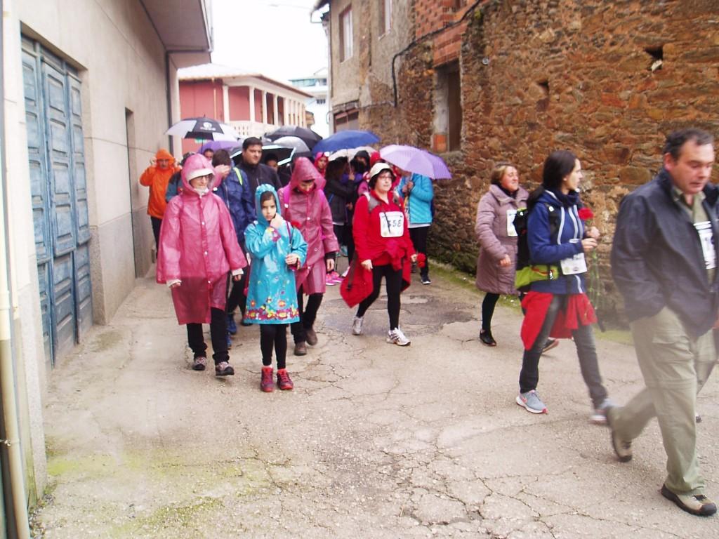 Durante la marcha