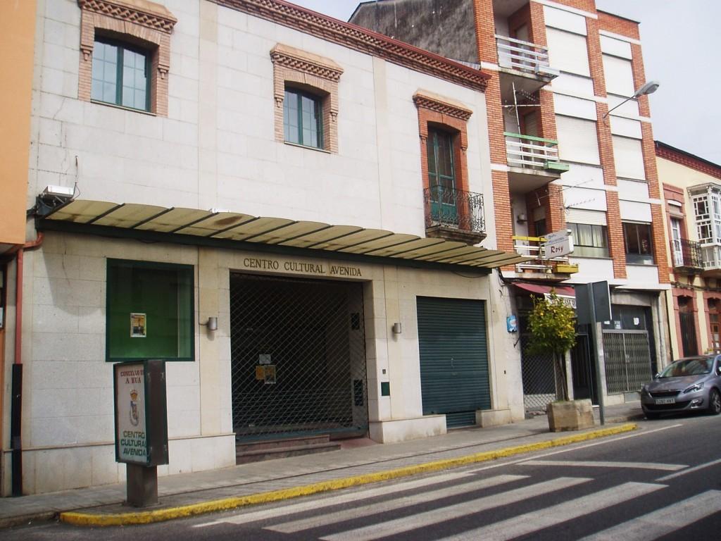 El Centro Cultural Avenida de A Rúa