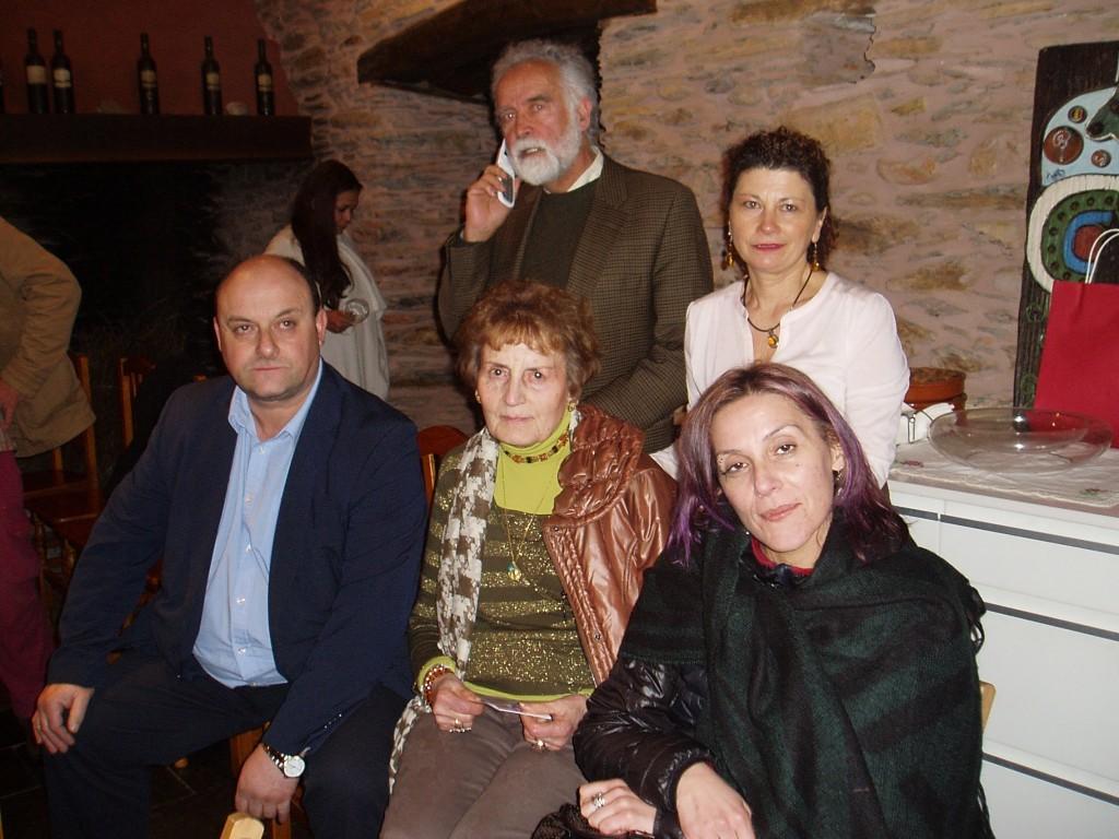 Francisco Ruiz, Rosa García Machado, Ramón Porto, Enma Fernández Pére Y Rochi Novoa