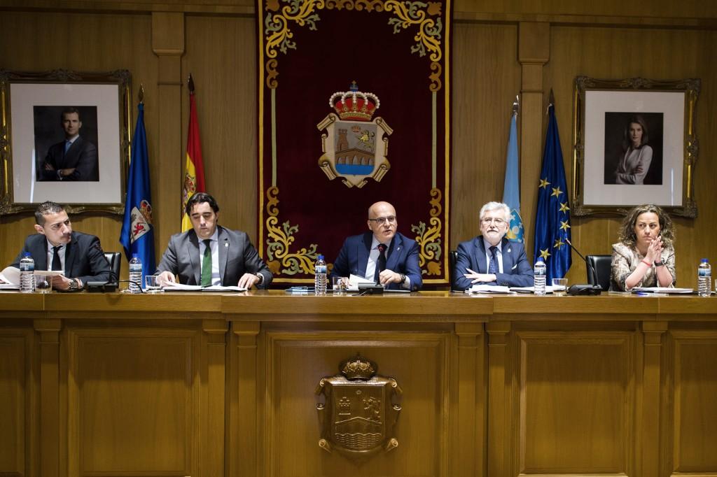 Imaxe do pleno da Deputación de Ourense