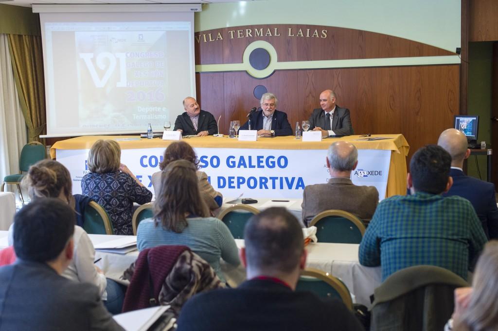 Inauguración do VI Congreso Galego de Xestión Deportiva