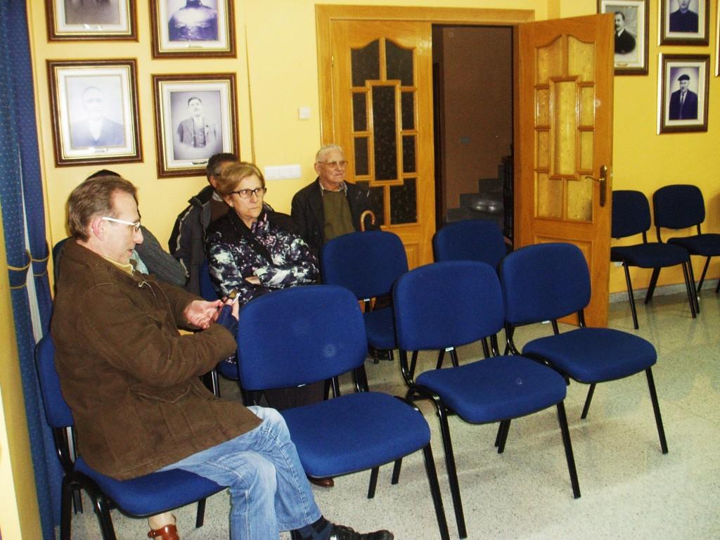Público en la sesión de presupuestos