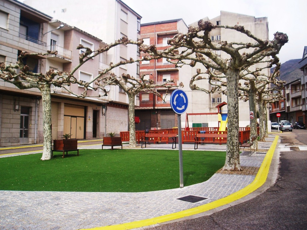 Plaza Galicia de A Rúa