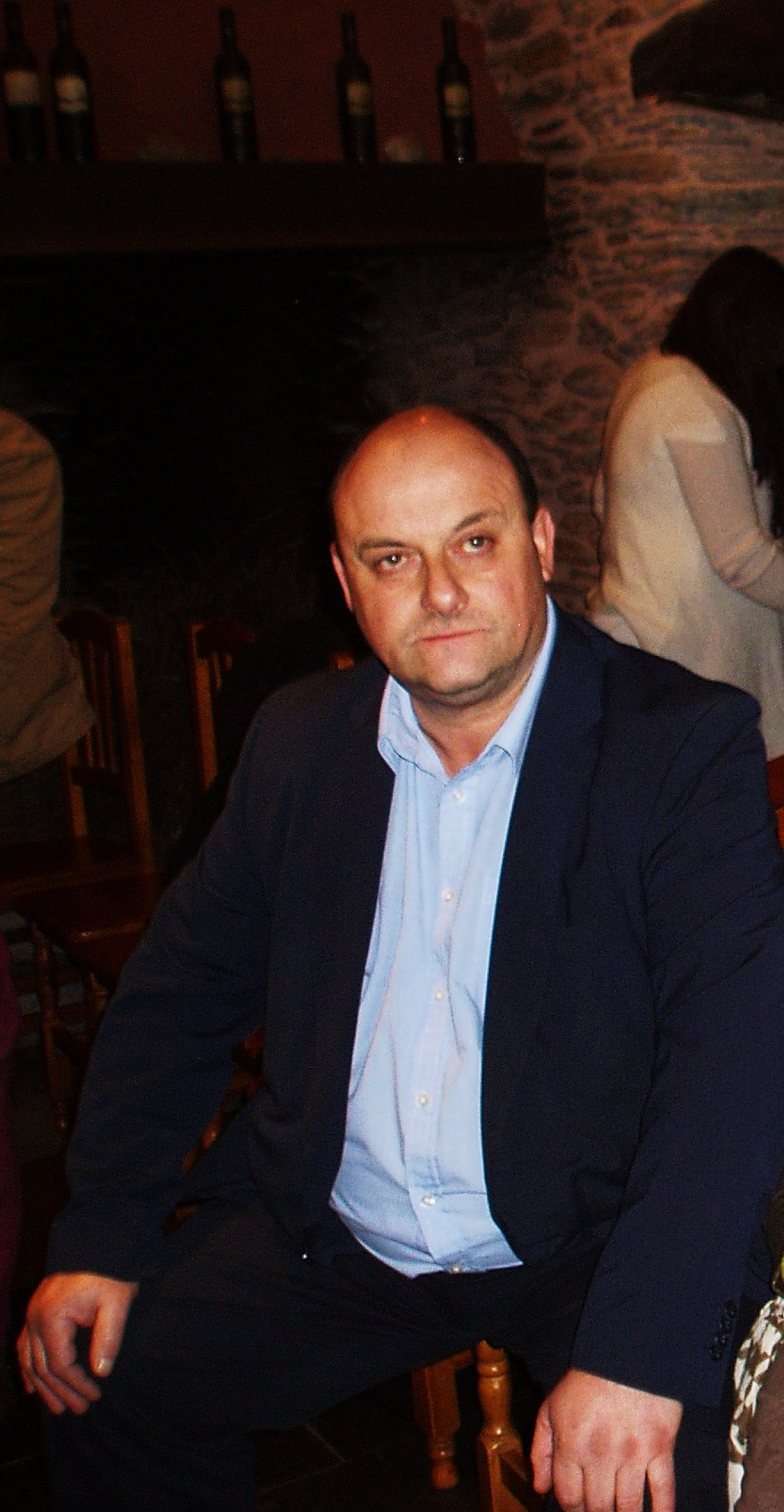 Ramón Porto, vicepresidente de la Asociación de Poetas de la Ribeira Sacra
