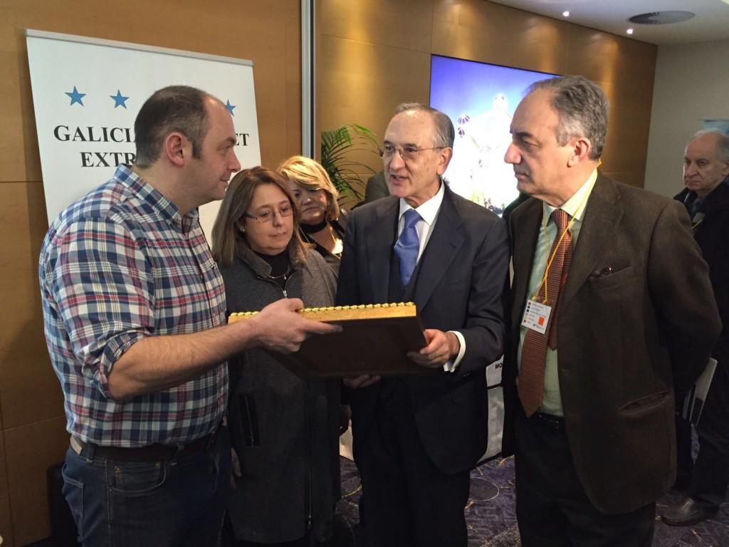 O encontro contou onte coa participación do embaixador de España en Bélxica, Ignacio Matellanes