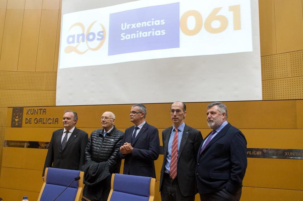 Jesús Vázquez Almuiña no acto de conmemoración do XX Aniversario da Fundación Pública Urxencias Sanitarias de Galicia-061 Autor: Xoán Crespo