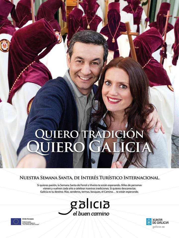 Campaña publicitaria para promover el destino Galicia en Semana Santa