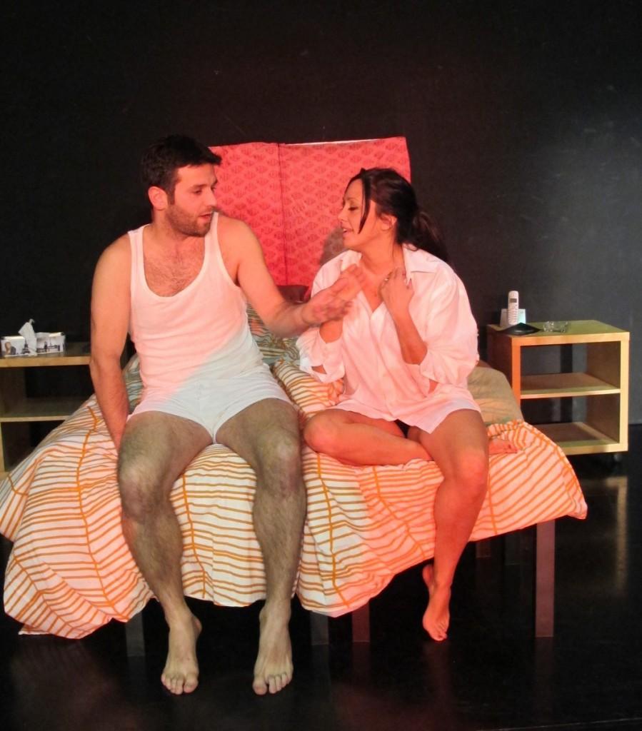 Mateo González y Tania Villamarín en 'Love Room'