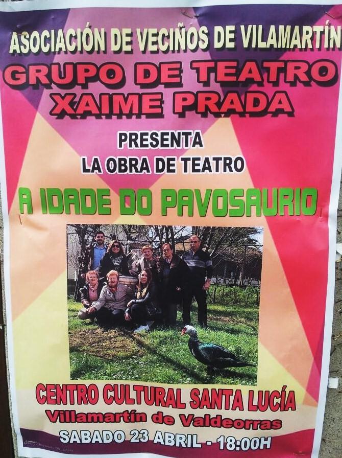 Actuación de teatro