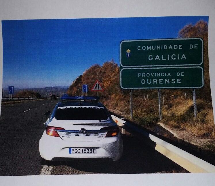 Control de velocidad de Tráfico de Ourense