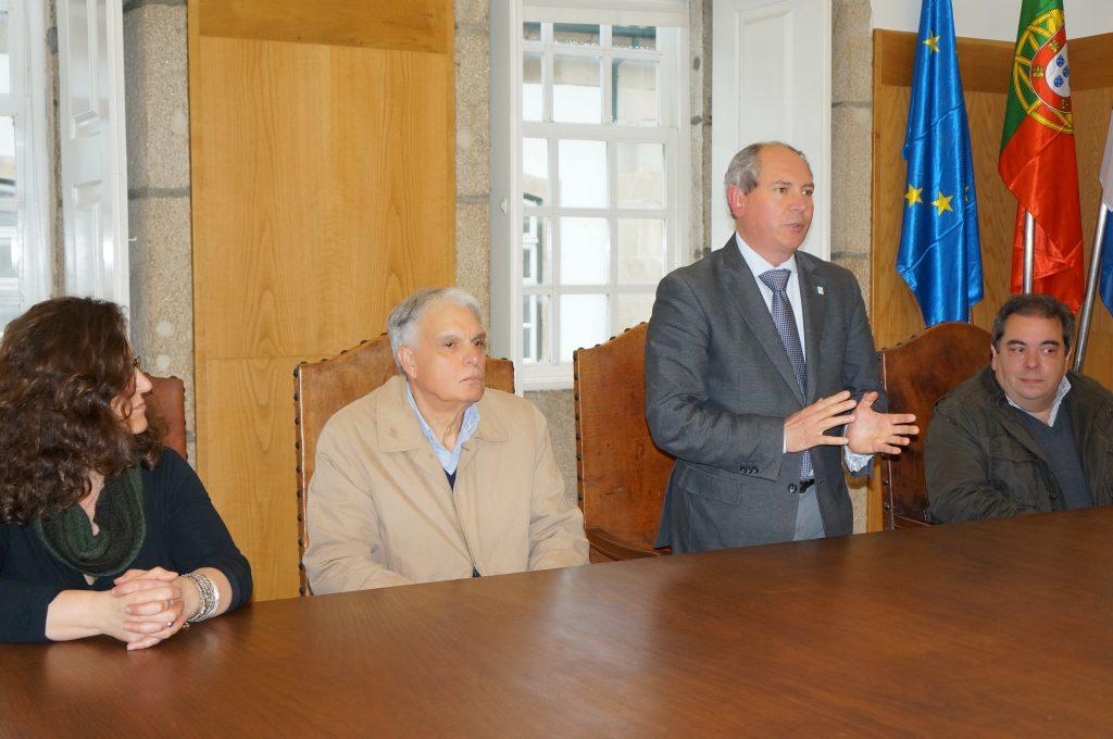 El alcalde de Chaves, Cabeleira, y el de Verín, Gerardo Seoane (a la derecha)