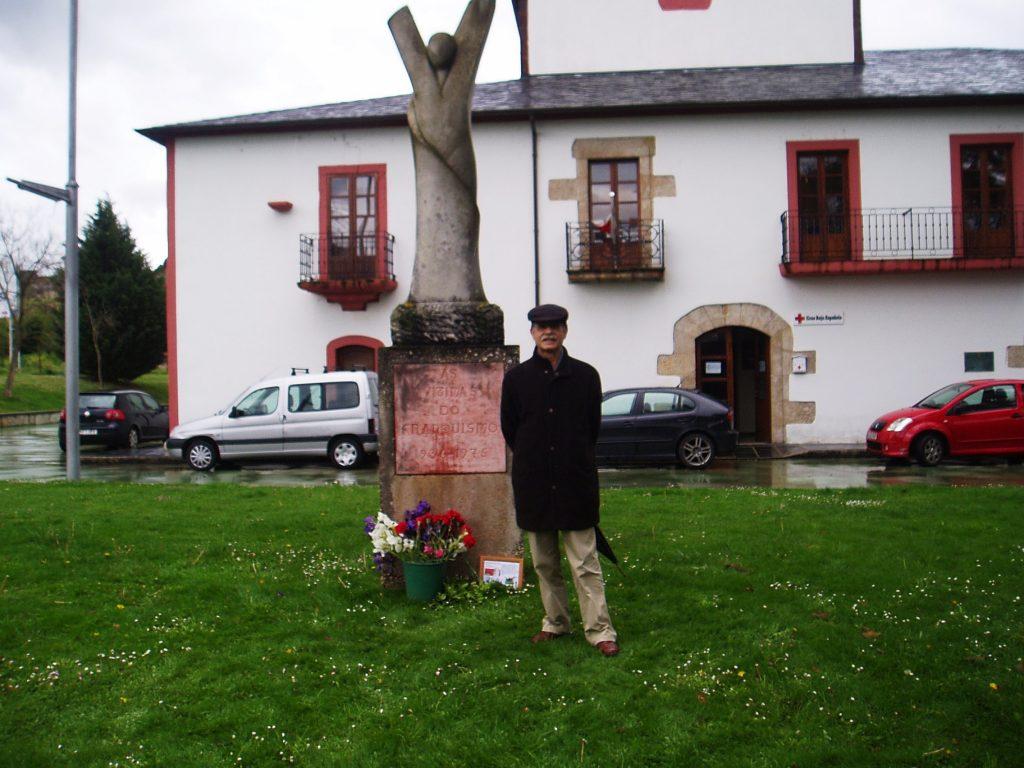 Francisco Cobo, presidente de Ateneo Republicano Valdeorras