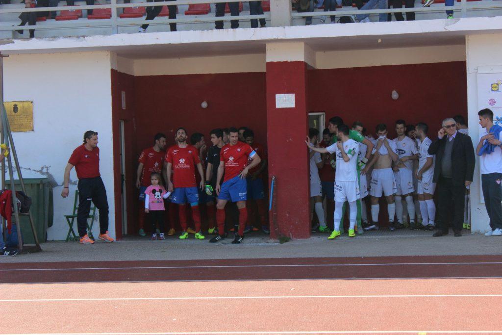 Barco y Silva antes de comenzar el encuentro