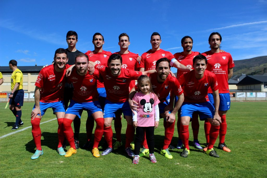 XI del CD Barco ante el Silva