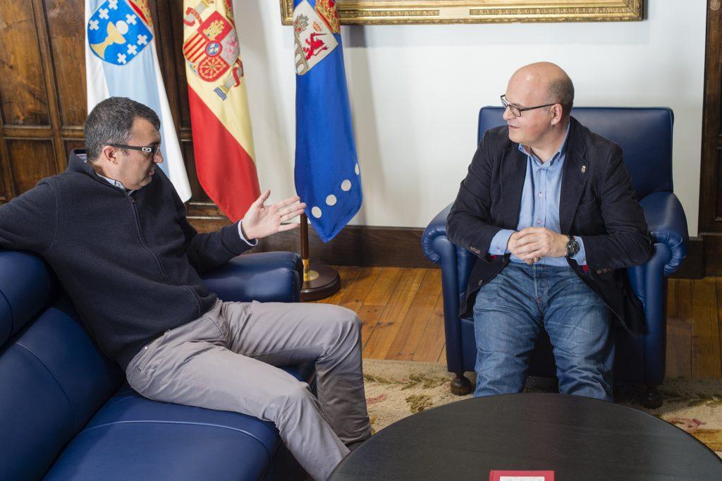 Javier Guillén e Manuel Baltar