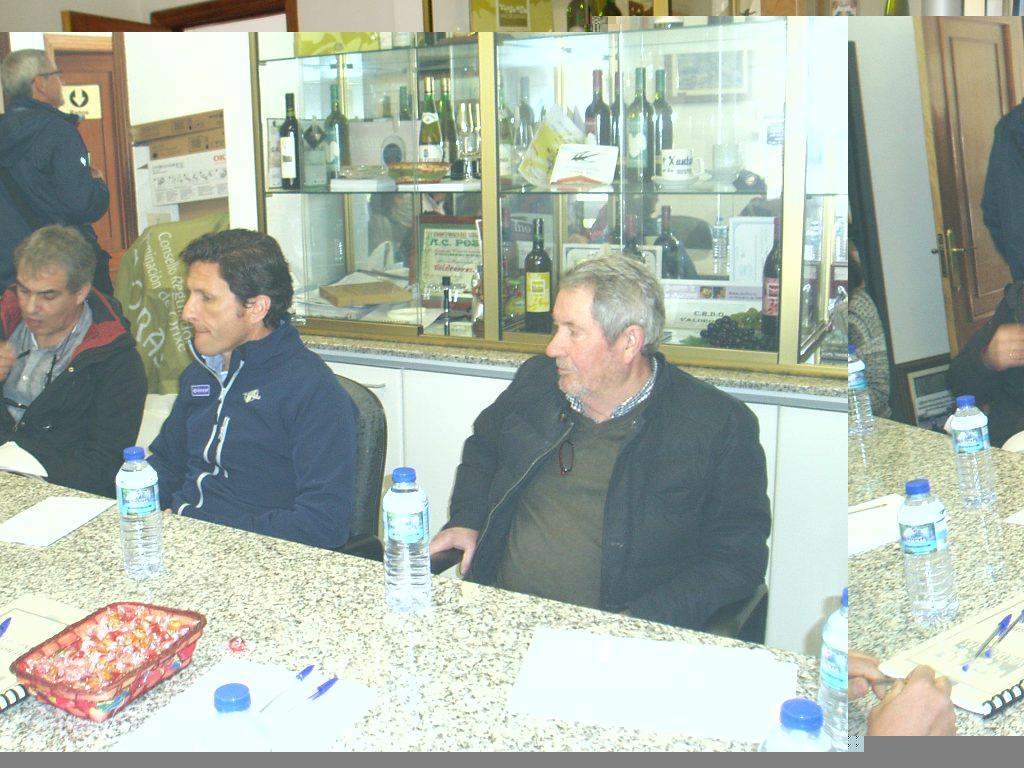 Pando, Rafael Palacios y Carlos Aristegui