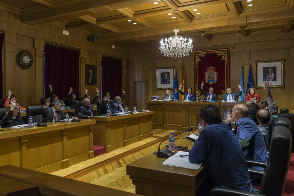 Pleno abril 2016 Deputación de Ourense