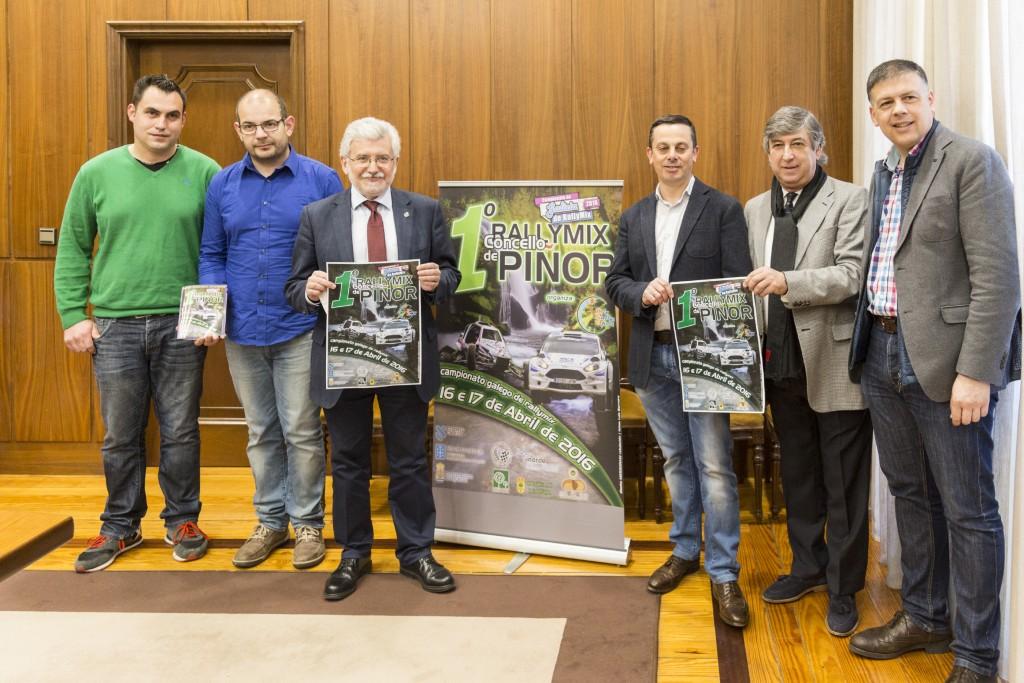 Presentación do I Rallymix Concello de Piñor