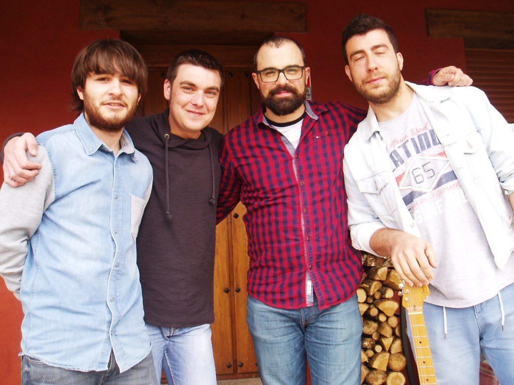 Suso, Oscar, Ramiro y David