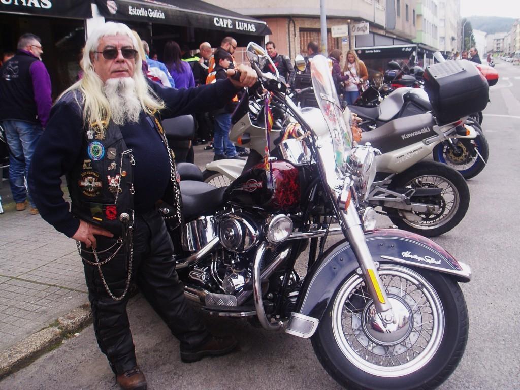 Un veterano de la moto