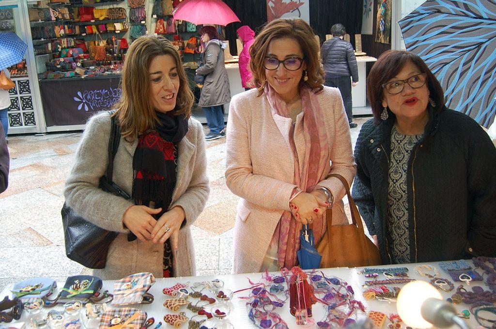 La directora general de Comercio, Sol Vázquez, participó en la inauguración del encuentro que se celebra hasta el 1 de mayo y en el que participan un total de 24 expositores