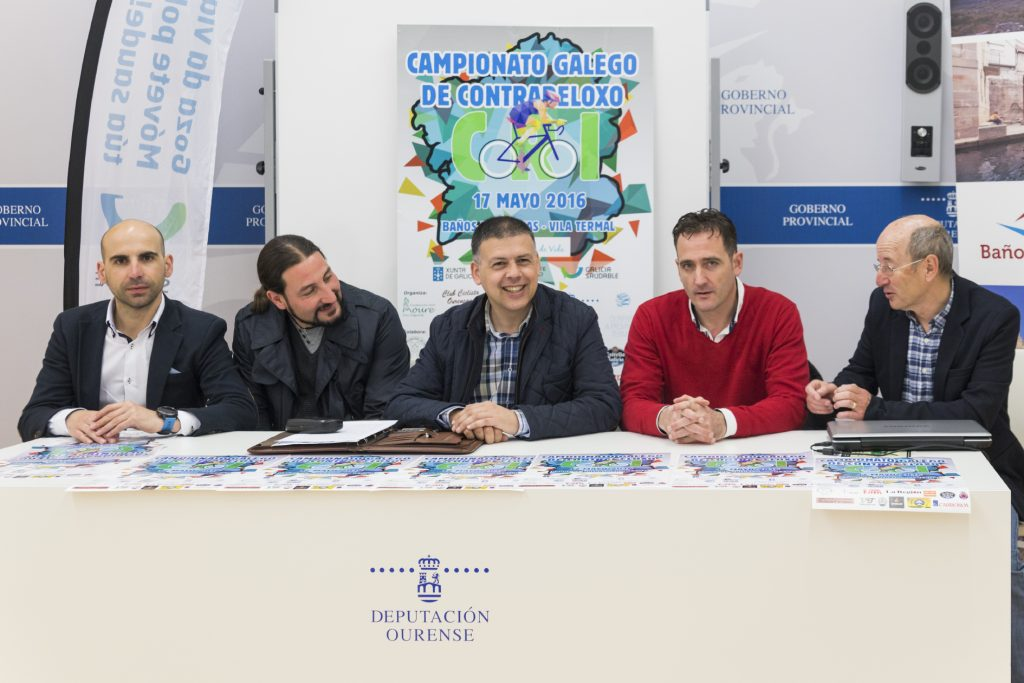 Carlos Muñiz, Xaime Oscar Iglesias, Bernardino González, Manuel Pérez e Carlos Moure