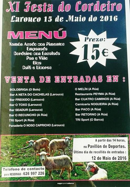 Cartel de la Festa de Larouco