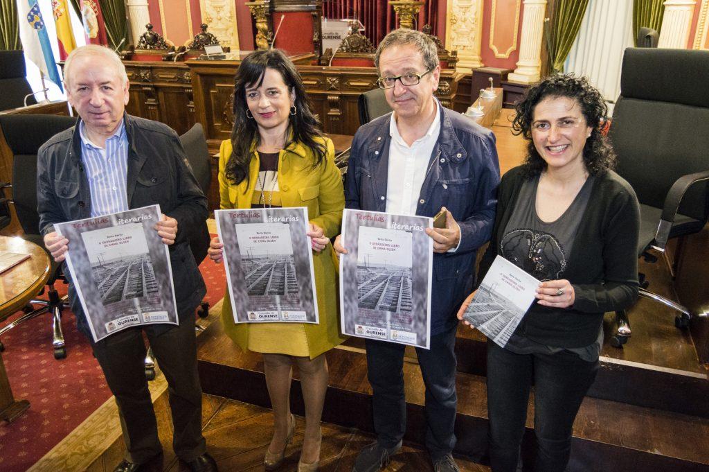 Deputación e Concello de Ourense organizan faladoiros literarios para os máis novos