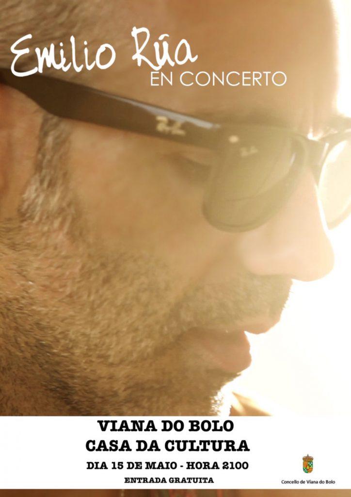 Cartel concierto Emilio Rúa